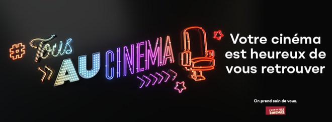 Annonce Réouverture des Cinémas le 19 mai