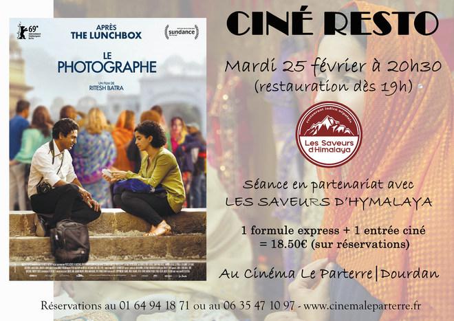 CINÉ RESTO > LE PHOTOGRAPHE