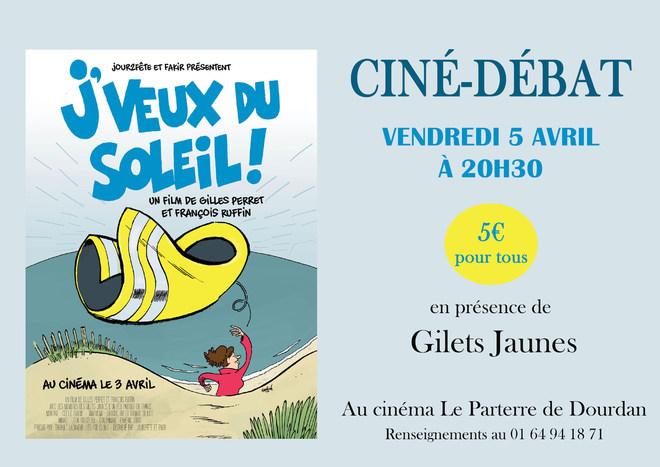 Ciné-Débat : J'VEUX DU SOLEIL